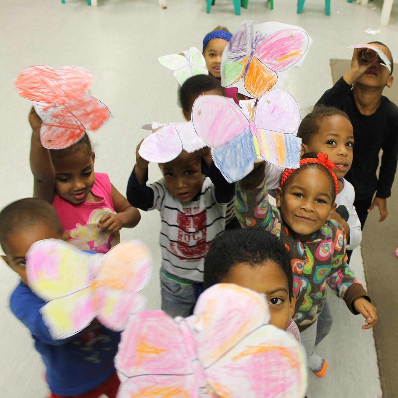 Freiwilligenarbeit, Township Kindergarten