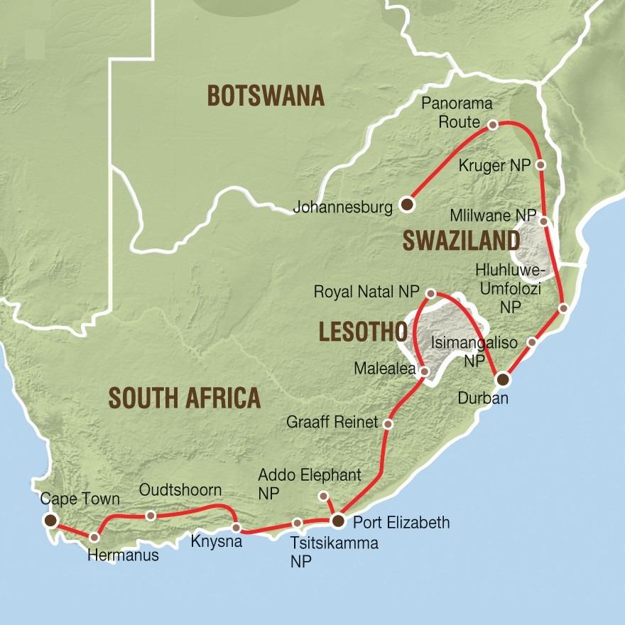 Reise Südafrika