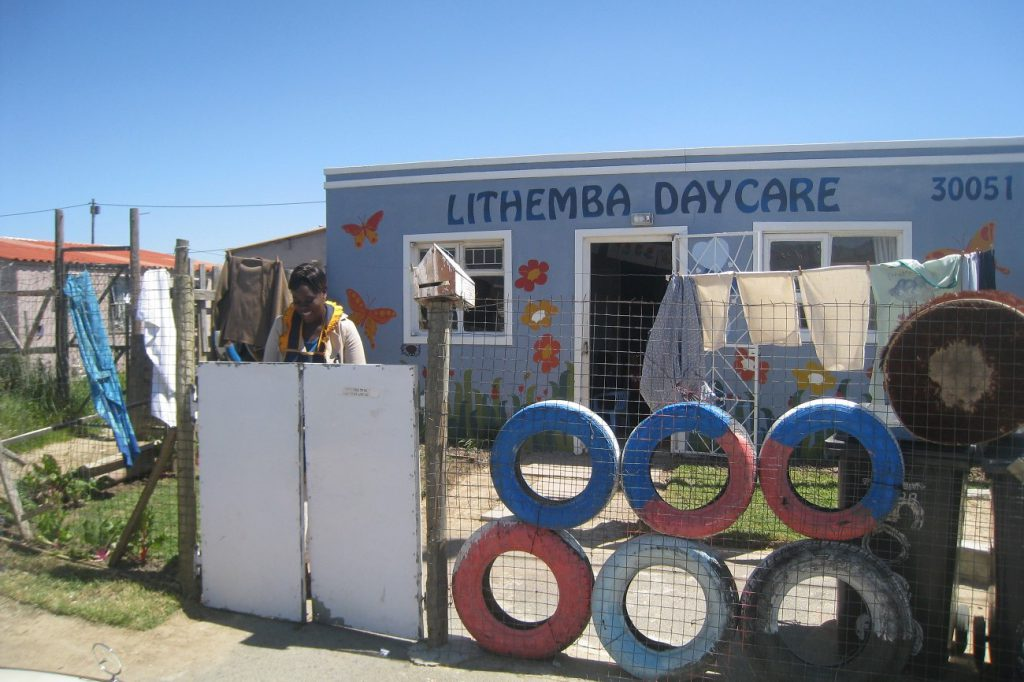Freiwilligenarbeit Township kindergarten