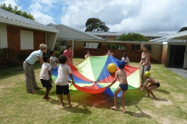 Freiwilligenarbeit Afrika Förderschule