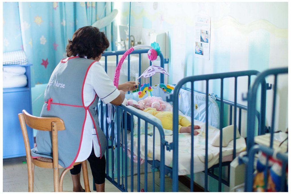 Freiwilligenarbeit mit Babys in Südafrika