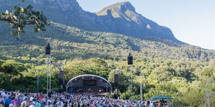 Sommerkonzerte Botanischer Garten Kapstadt