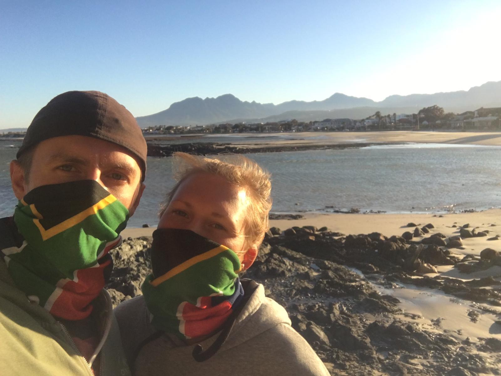 Freiwilligenarbeit Lockdown Südafrika