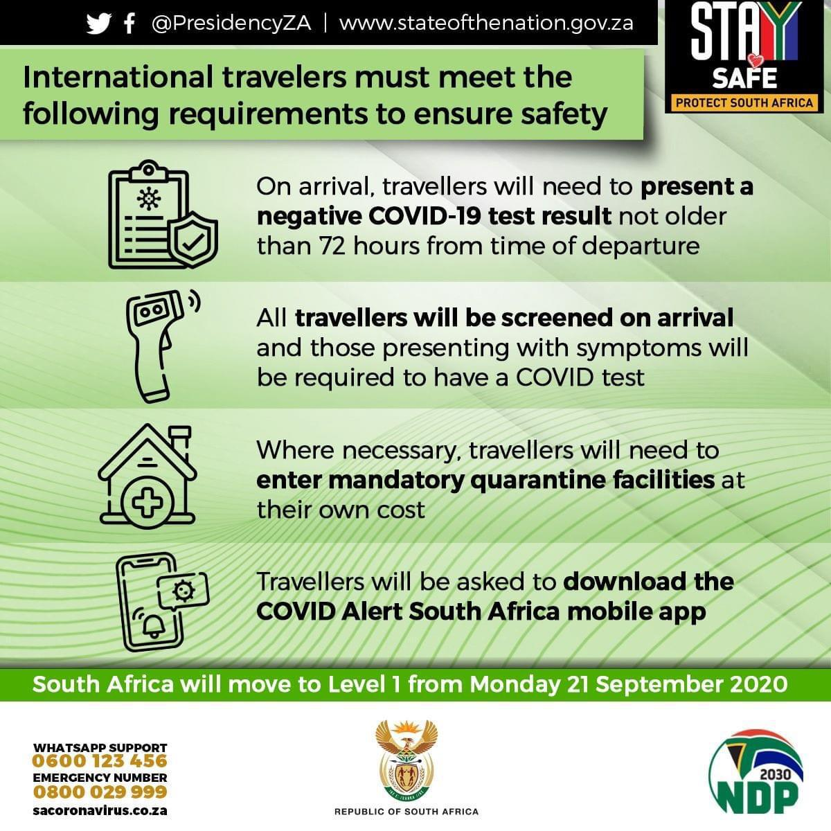 südafrika reisen corona