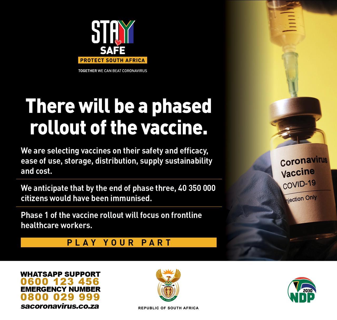 corona Impfung suedafrika