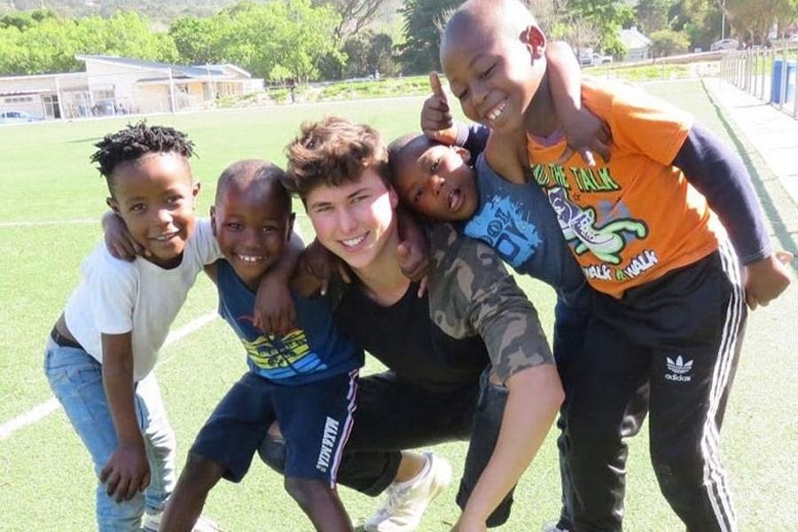 Freiwilligenarbeit Fussball Südafrika