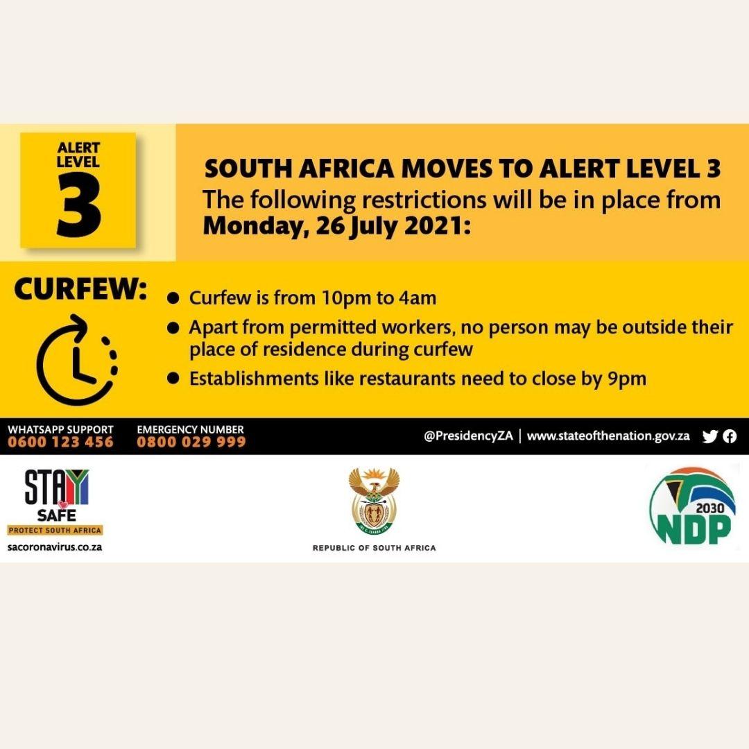 Corona südafrika juli 2021
